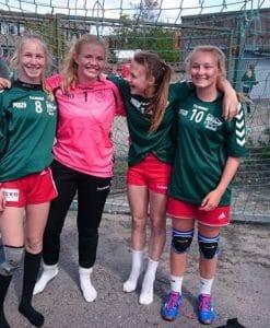 Sporty jenter fra Tveter IL