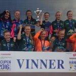 Tune IL jenter 2002 deltok i helgen i Håndballcupen Ski 2016