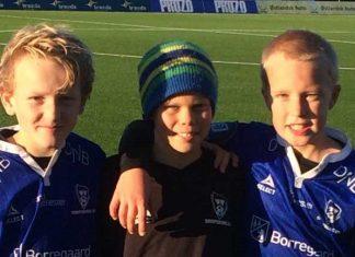Fra venstre Jørgen Klausen, Benjamin Olsen, og Adrian Thon Johansen.